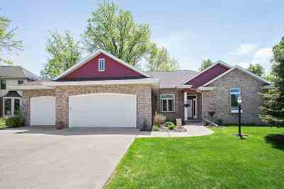 Combined Locks Single Family Home Active-No Offer: 136 Ombre Rose
