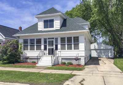Green Bay Single Family Home Active-No Offer: 1103 N Webster