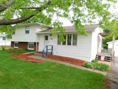 Green Bay Single Family Home Active-No Offer: 2388 Riverview