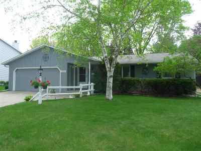Green Bay Single Family Home Active-No Offer: 2905 Lost Horizon