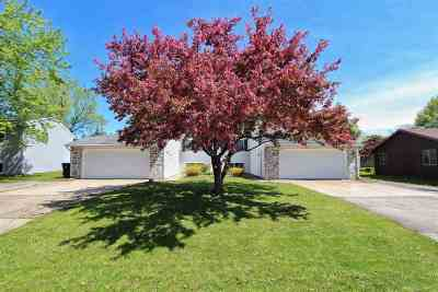 Appleton WI Multi Family Home Active-No Offer: $204,900