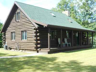 Shawano Single Family Home Active-No Offer: N7121 Loon Lake