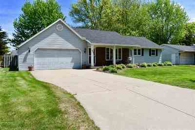 Green Bay Single Family Home Active-No Offer: 431 Easy