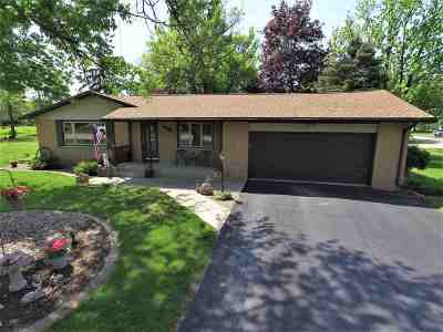 Menasha Single Family Home Active-Offer No Bump: 1605 Eugene