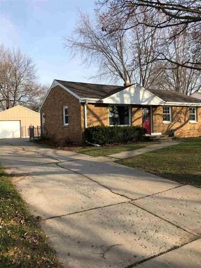 Green Bay Single Family Home Active-No Offer: 2225 E Center