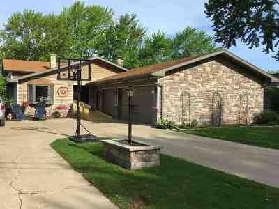 Menasha Single Family Home Active-Offer No Bump: 1490 Lakeshore