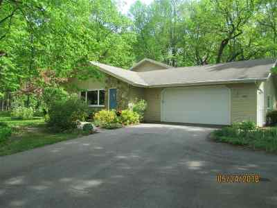 Neenah Single Family Home Active-Offer No Bump: 1697 W Paynes Point