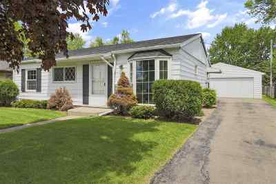 Neenah Single Family Home Active-Offer No Bump: 1051 Sterling