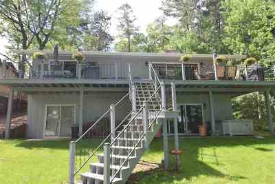 Shawano County Single Family Home Active-No Offer: N2878 Island View