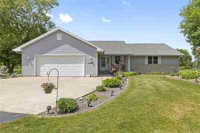 Menasha Single Family Home Active-Offer No Bump: W5904 Frontage