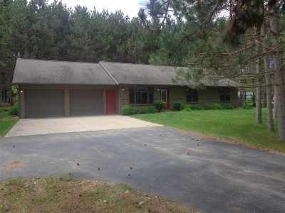 Shawano Single Family Home Active-No Offer: N4885 Rocky Ridge