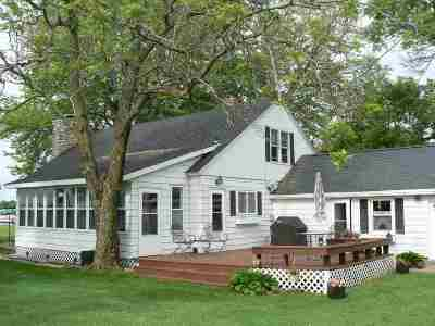 Shawano Single Family Home Active-No Offer: W6279 Webers Point