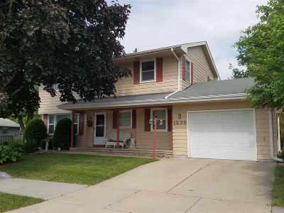 Green Bay Single Family Home Active-No Offer: 1235 Lark