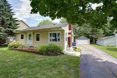 Neenah Single Family Home Active-Offer No Bump: 2028 Hwy A