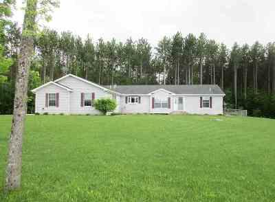 Marinette Single Family Home Active-No Offer: W4039 Grasser