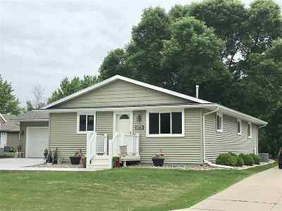 Menasha Single Family Home Active-Offer No Bump: 1125 Greenwood