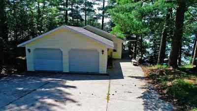 Waupaca Single Family Home Active-No Offer: N2425 Cleghorn