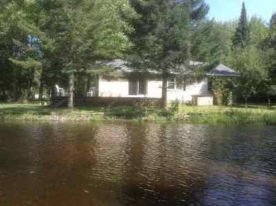 Oconto County Single Family Home Active-No Offer: 12989 Lower Bagley Rapids