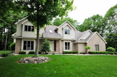 Appleton Single Family Home Active-No Offer: 53 Brentwood