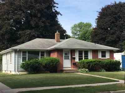 Green Bay Single Family Home Active-Offer No Bump: 1301 Oregon