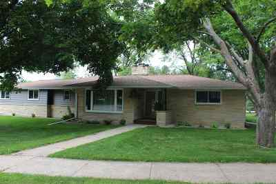 Single Family Home Active-No Offer: 203 Wisconsin