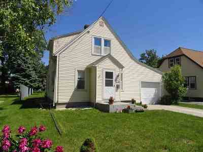 Menasha Single Family Home Active-No Offer: 718 4th
