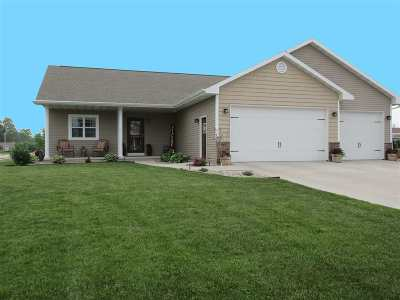 Neenah Single Family Home Active-No Offer: 1600 Pond View