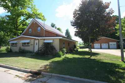 Suring Single Family Home Active-No Offer: 9648 Hwy G