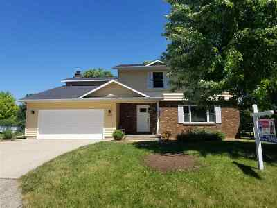 Menasha Single Family Home Active-Offer No Bump: 1665 Lakeshore