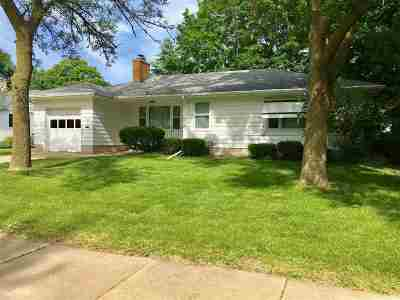 Oshkosh Single Family Home Active-No Offer: 1114 Bowen