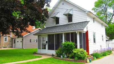 Little Chute Multi Family Home Active-No Offer: 616 Harrison