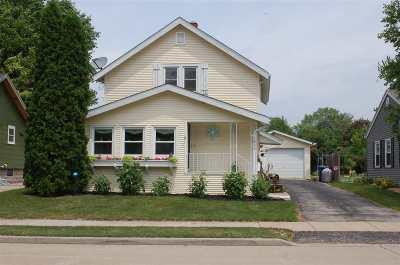 Oshkosh Single Family Home Active-No Offer: 1826 Hollister