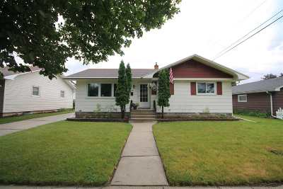 Single Family Home Active-No Offer: 417 Wettstein