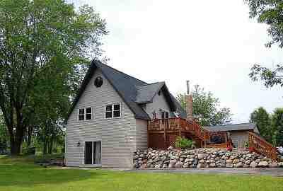 Oconto Single Family Home Active-No Offer: 3044 Hwy 22