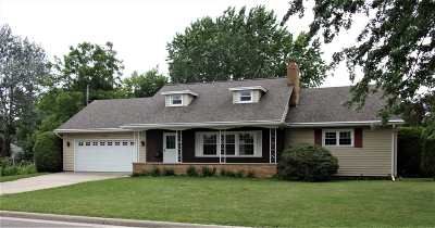 Neenah Single Family Home Active-No Offer: 1016 Gregory