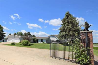 Pulaski Single Family Home Active-No Offer: 8877 Hwy S