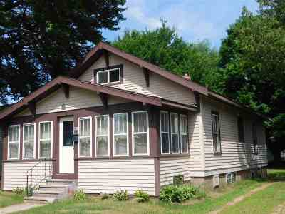 Shawano Single Family Home Active-Offer No Bump-Show: 708 S Union