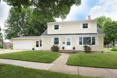 Appleton Single Family Home Active-No Offer: 542 E Carroll