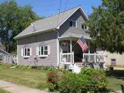 Single Family Home Active-No Offer: 1054 Van Buren