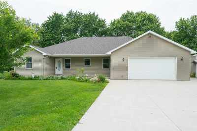 Winneconne Single Family Home Active-Offer No Bump-Show: 6707 Frontier