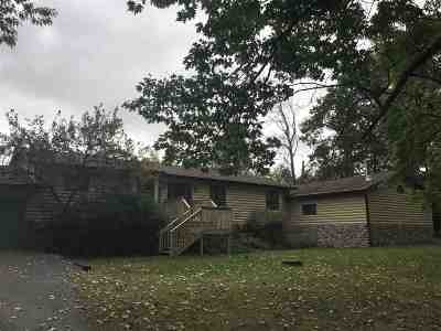 Marinette County Single Family Home Active-No Offer: W1724 River Oaks