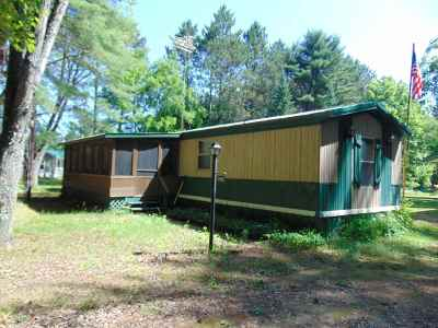 Wausaukee Single Family Home Active-No Offer: N8704 Maple Beach
