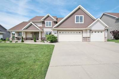 Green Bay Single Family Home Active-No Offer: 3585 Glen Abbey