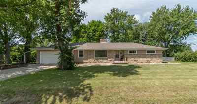 Menasha Single Family Home Active-Offer No Bump: 1010 Lakeshore