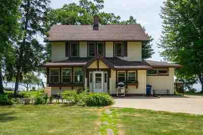 Oshkosh Single Family Home Active-No Offer: 6180 Black Wolf Point