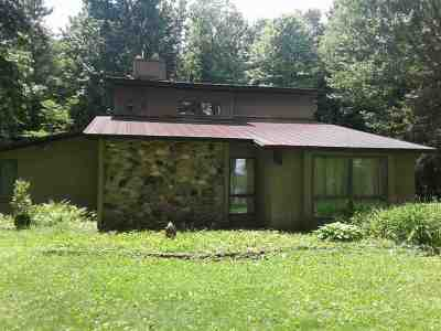 Shawano County Single Family Home Active-No Offer: 9155 N Big Lake