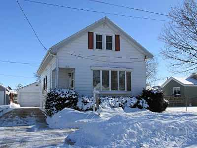Oshkosh Single Family Home Active-No Offer: 1012 Central