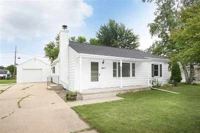 Menasha Single Family Home Active-Offer No Bump: 1447 Lilly