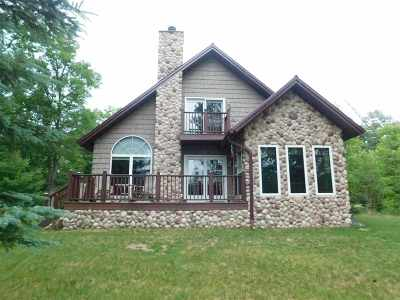 Crivitz Single Family Home Active-No Offer: 14338 Frog Lake