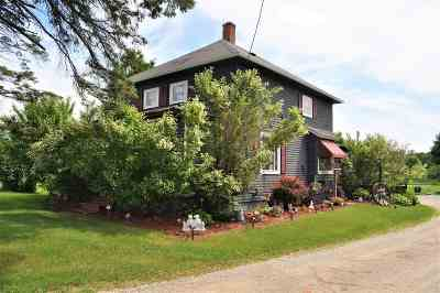 Sobieski Single Family Home Active-No Offer: 1326 Hwy C